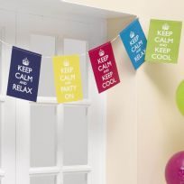 Keep Calm And Party On Bunting